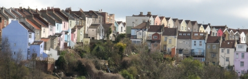 Totterdown_houses,_from_Albert_Road_railway_bridge